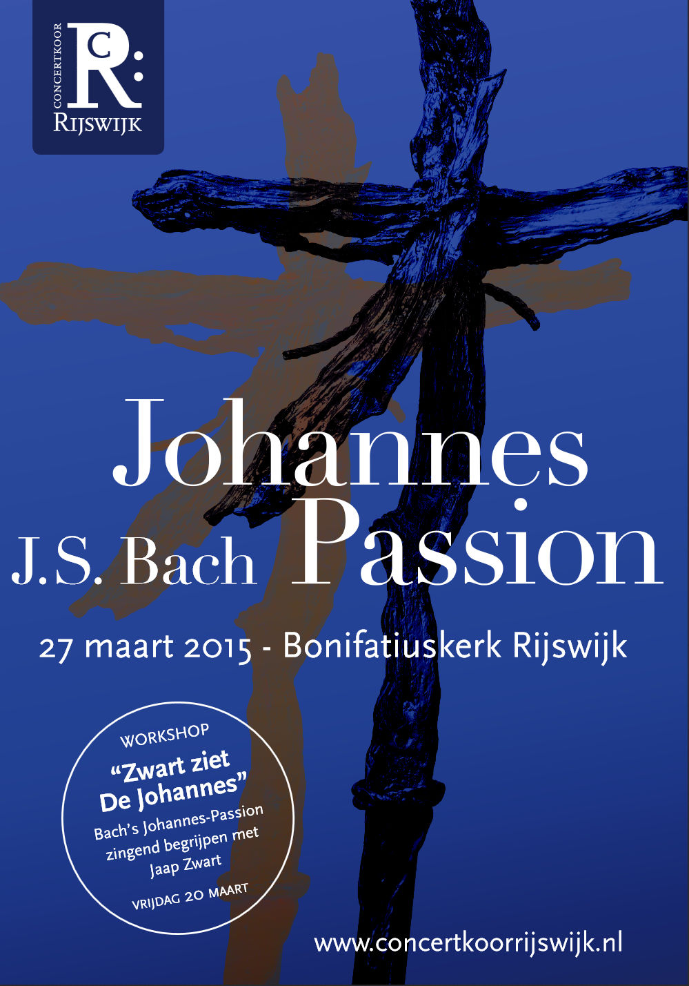 Flyer Johannes Passion